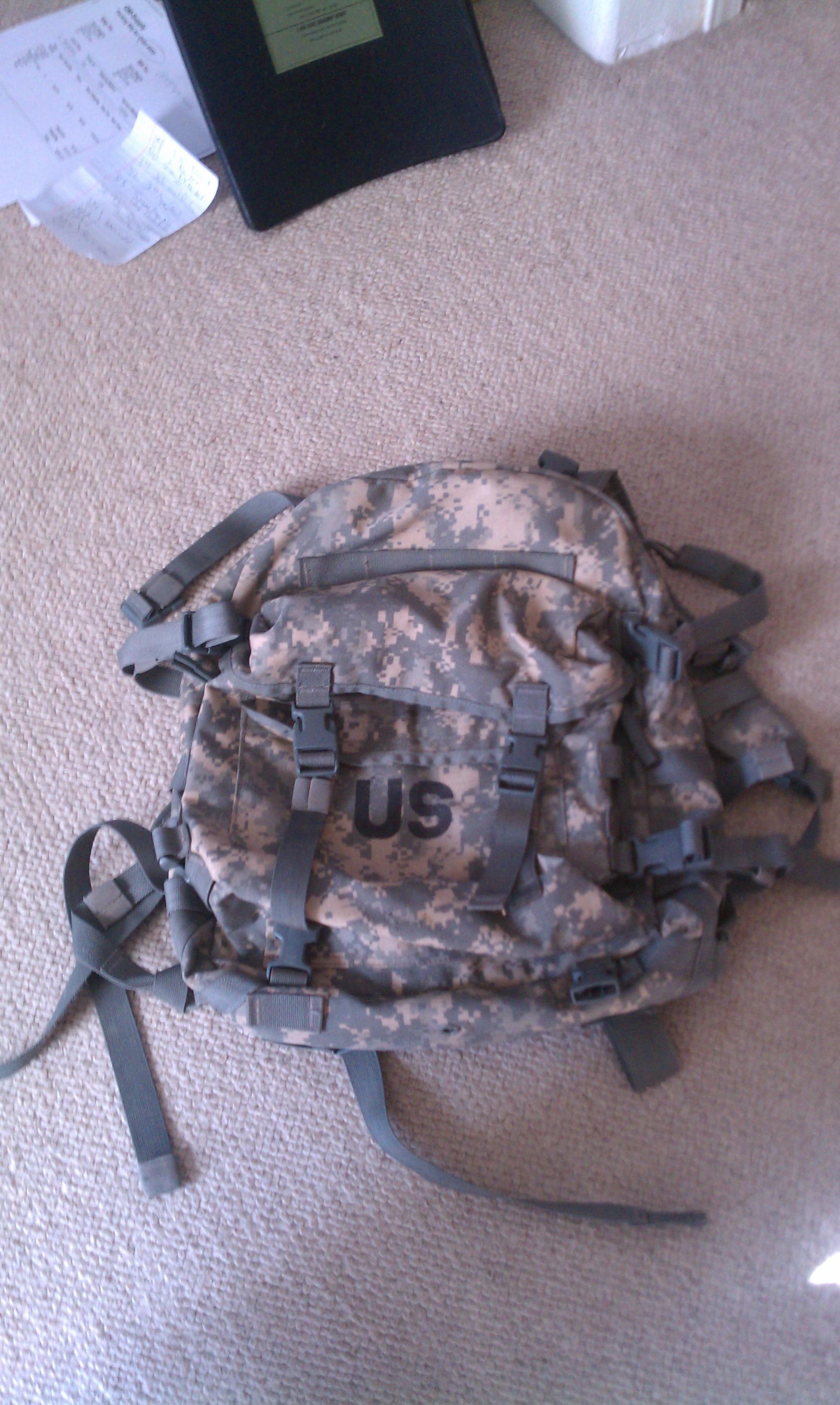 ACU Assault Pack