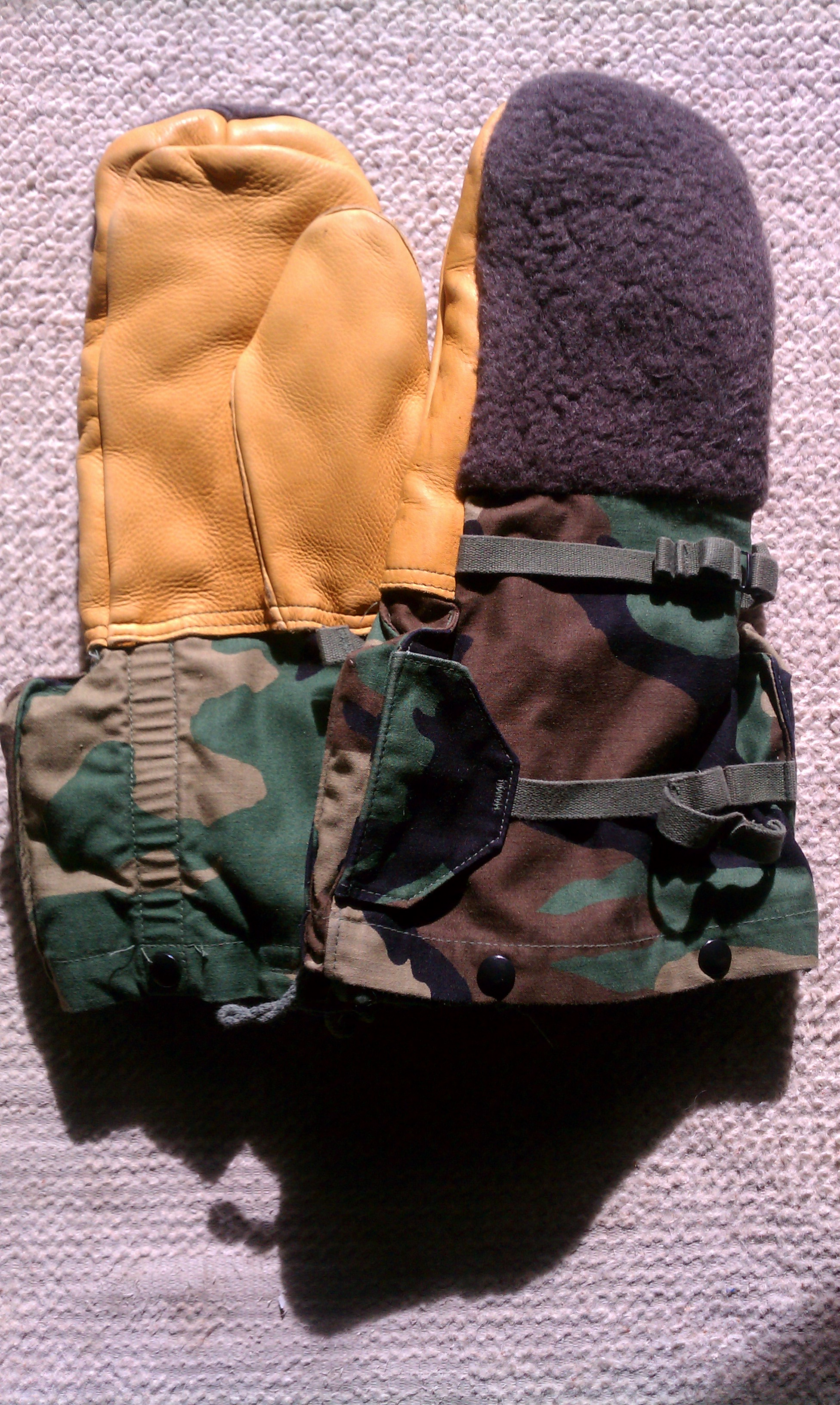 Extreme Cold Arctic Mittens