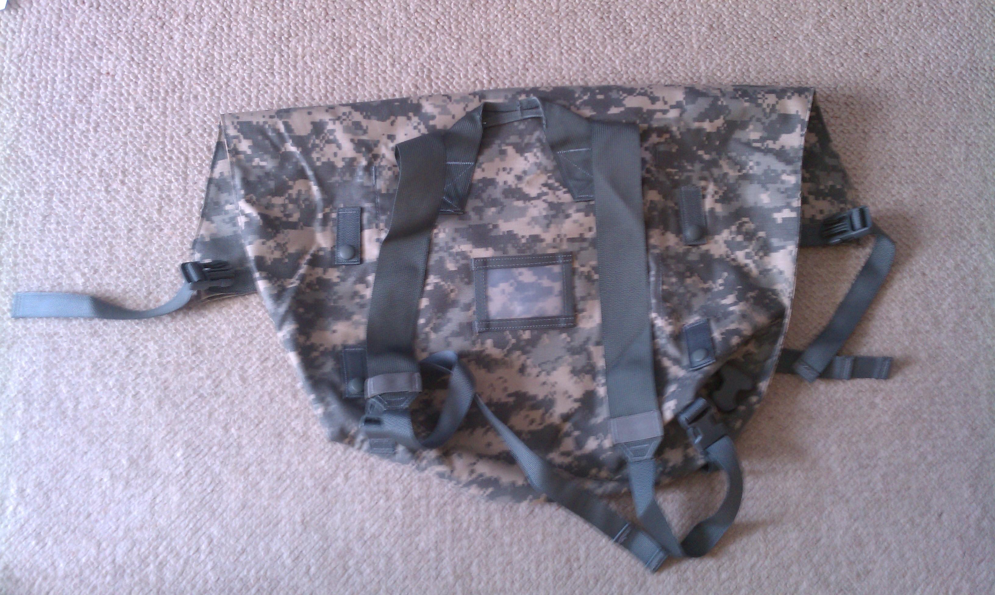 Bag for Chem Suit