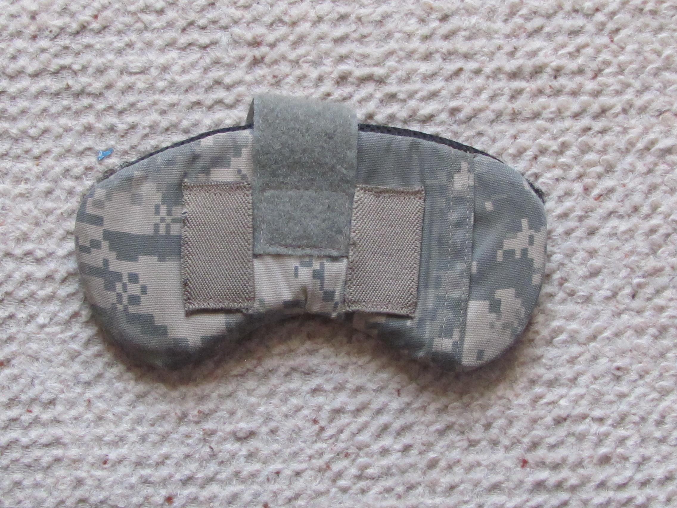 Nape pad ACH helmet ACU